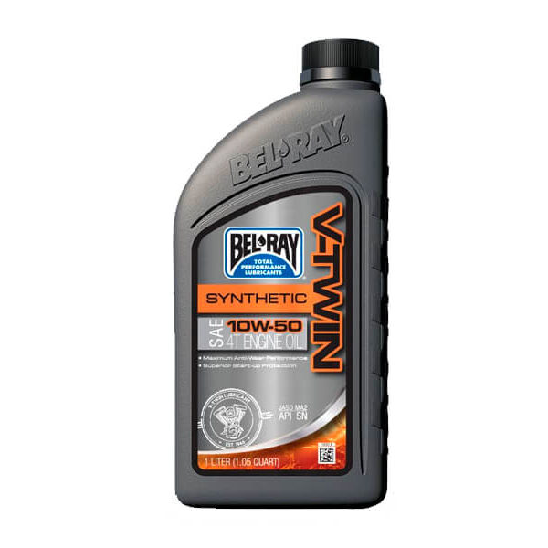 ACEITE BEL RAY V-TWIN 10W-50 SYNTHETIC ESTER & PAO